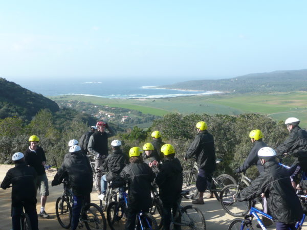 VTT en Corse