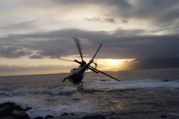 Transport de passagers en Hélicoptère